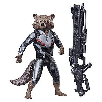Boneco Rocket Raccoon - Titan Hero Series- Marvel - Hasbro