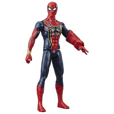 Boneco Iron Spider -Titan Hero Series - Marvel - Hasbro