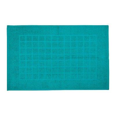 Toalha de Piso Royal II - Azul Esverdeado - Döhler