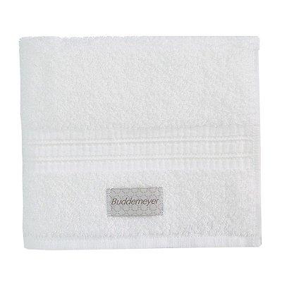 Toalha de Rosto Frapê - Branco 1011 - Buddemeyer