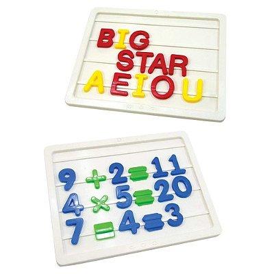 Brincar de Aprender - Letras e Números - Big Star