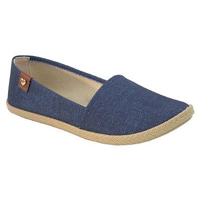 Sapatilha Jeans Escuro - Moleca
