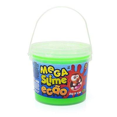Mega Slime Ecão - 2kg - Verde Neon - DTC
