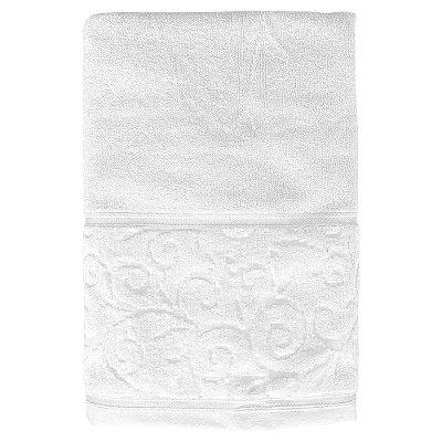 Toalha de Banho Unique Anette - Branco 0001 - Santista