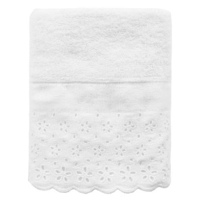 Toalha de Rosto Crystal - Branco 1011 - Buddemeyer