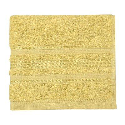 Toalha de Rosto Royal Dilan - Amarelo Mostarda 1035 - Santista