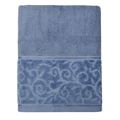 Toalha Banhão Anette - Azul Escuro 6272 - Santista