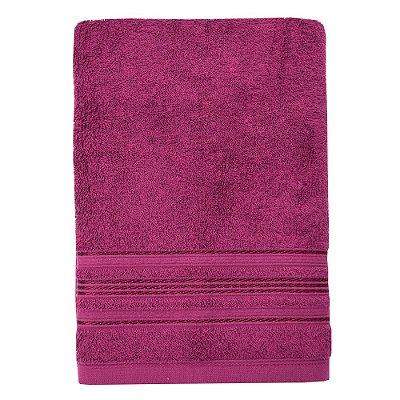 Toalha de Banho Royal Dilan - Rosa Escuro 4086 - Santista