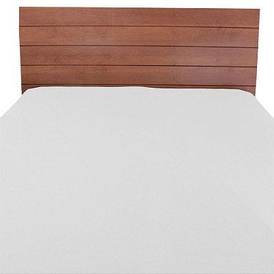 Lençol de Cama King Size - Branco -  Vivaldi Premium