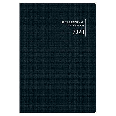 Agenda Planner Cambridge 2020 - Preto - Tilibra