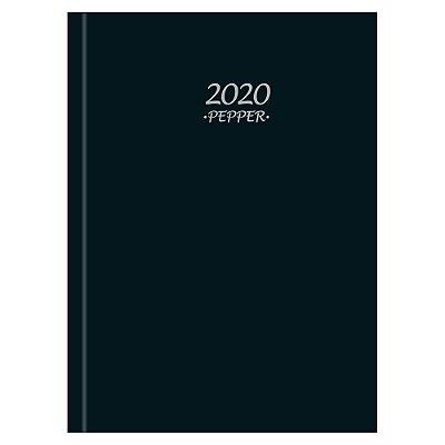 Agenda Diária Pepper 2020 - Preta - Tilibra