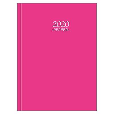 Agenda Diária Pepper 2020 - Rosa - Tilibra