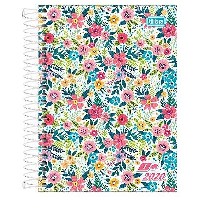 Agenda Diária D+ 2020 - Flores - Tilibra