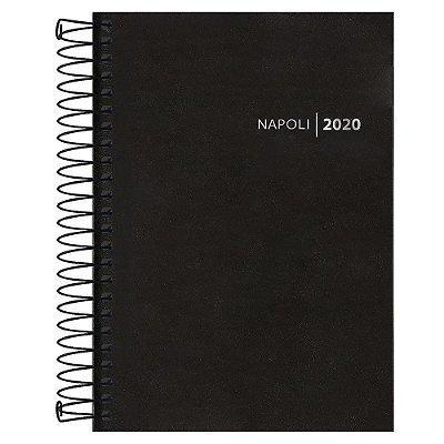 Agenda Diária Napoli 2020 - Preto - Tilibra
