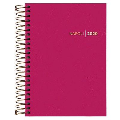Agenda Diária Napoli 2020 - Rosa - Tilibra