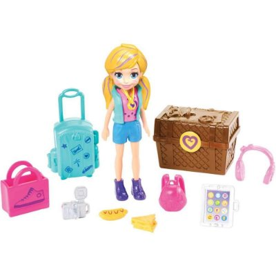 Polly Pocket - Kit Turista Estiloso - Mattel