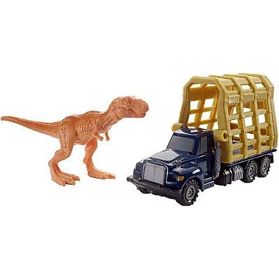 Jurassic World - Transporte Dino - T. Rex Trailer - Mattel
