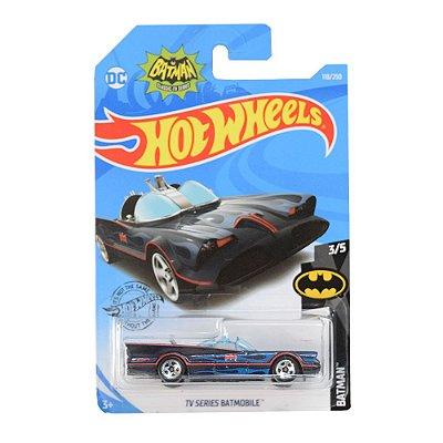 Carrinhos Hot Wheels - Tv Series Batmobile - Mattel
