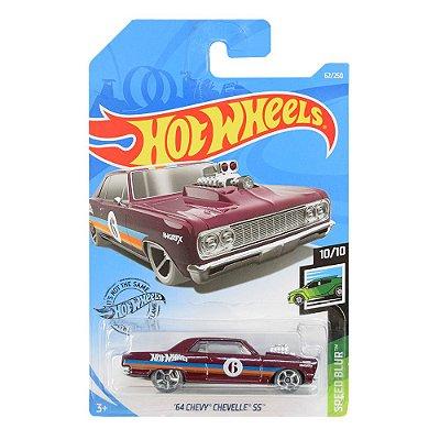 Carrinhos Hot Wheels - 64 Chevy Chevelle 55 - Mattel