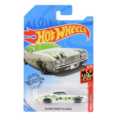 Carrinhos Hot Wheels - 69 Ford Torino Talladega - Mattel