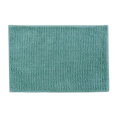 Tapete de Banheiro Popcorn  Remix - Azul Turquesa - Camesa