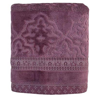 Toalhas de Rosto Le Bain Madras - Roxo 5115 - Artex