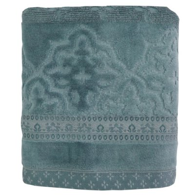Toalhas de Rosto Le Bain Madras - Azul 6600 - Artex