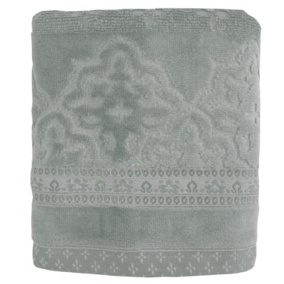 Toalhas de Rosto Le Bain Madras - Cinza 9139 - Artex