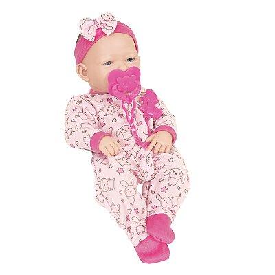 Boneca Baby Ninos Newborn - Suquinho - Cotiplás