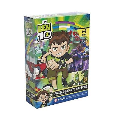 Quebra Cabeça Puzzle Gigante - Ben 10 - 48 Peças - Grow