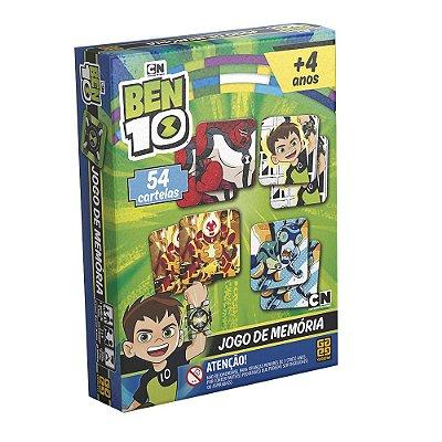 Jogo da Memória  Ben 10 - 54 peças - Grow