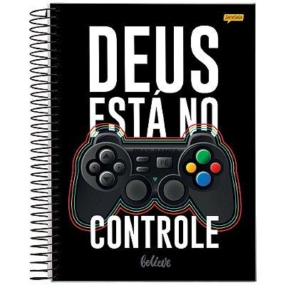 Caderno Believe - Deus Está no Controle - 1 Matéria - Jandaia