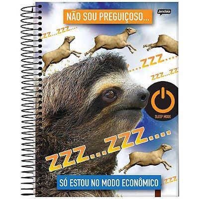 Caderno Insano - 1 Matéria - Preguiça - Jandaia