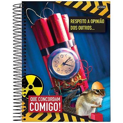 Caderno Insano - 1 Matéria - Dinamite e Esquilo - Jandaia