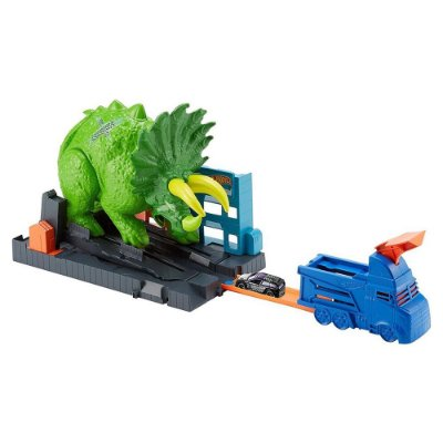 Hot Wheels Ataque do Triceratops - Mattel