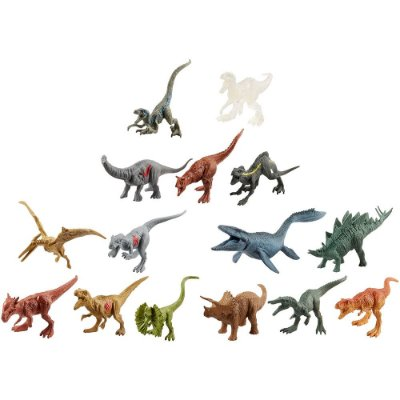 Conjunto de Dinossauros Jurassic World - 15 Peças - Mattel