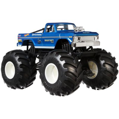 Hot Wheels Monster Trucks - BigFoot 4x4x4 - Mattel