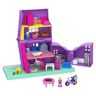 Polly Pocket - Casa da Polly - Mattel