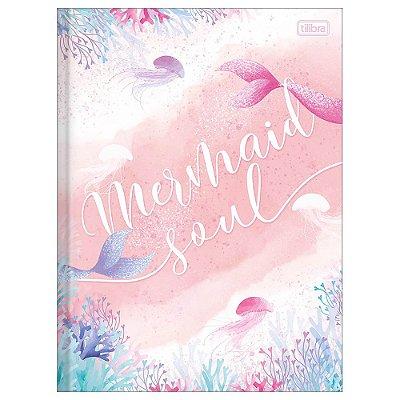 Caderno Brochura Wonder - Mermaid Soul - 80 Folhas - Tilibra