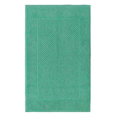 Toalha Piso para Pés Canelada Luxor - Verde Esmeralda 1869 - Buddemeyer