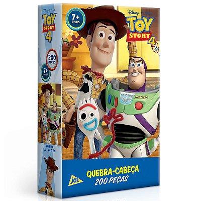 Quebra-Cabeça Toy Story 4 - 200 Peças - Toyster