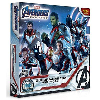 Quebra-Cabeça Avengers End Game - 500 Peças - Toyster