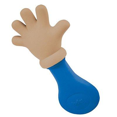 Mordedor Chocalho Mãozinha Colors - Azul Escuro - Toyster