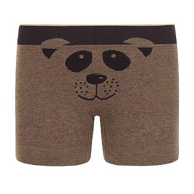 Cueca Boxer sem Costura - Ursinho - Lupo Kids