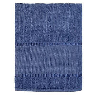 Toalha de Banho Velour Para Bordar Bella - Azul 10470 - Döhler