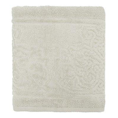 Toalha de Rosto Jacquard Confort - Cinza Claro 11467 - Döhler