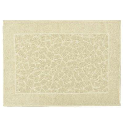Toalha para Piso Felpudo Jacquard Confort Mosaico - Bege 10850 - Döhler