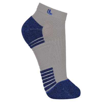 Meia Sport Running - Cinza e Azul - Lupo