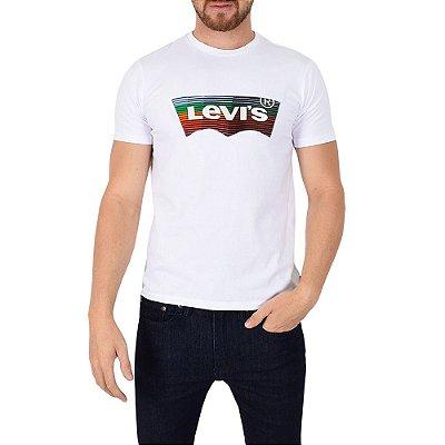 Camiseta Masculina Originals Logo Colorido - Levis