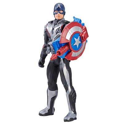 Boneco Capitão América - Titan Hero Series - Marvel - Hasbro
